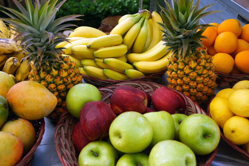 Tropical Fruit at Maui Farmers Market as an example of 2020 Farm Day